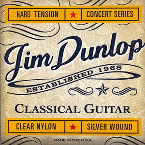 Dunlop Clear Nylon classical guitar strings Normal Tension