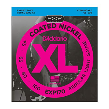 D'Addario Bass strings EXP170 45-100