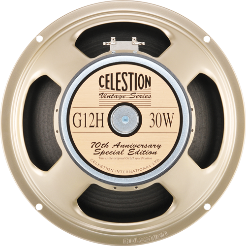 "Celestion 12"" Speaker G12H 70th Anniversery 30 Watt 16 Ohm"