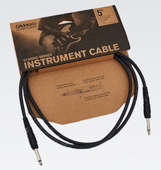 D'Addario Planet Waves Classic Series Instrument Cables - 5'