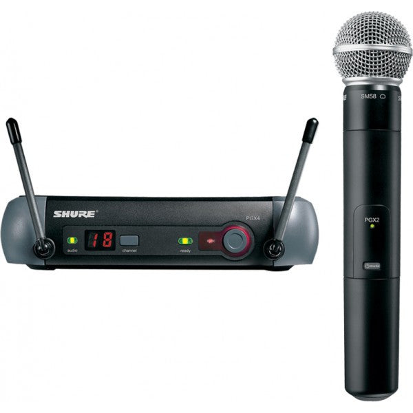 Shure PGX24 Wireless Handheld Mic System