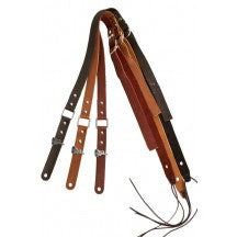 BitchStraps Skinny Ring Brown Leather Guitar Strap