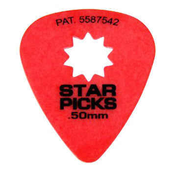 Star Picks .50mm Red 12pk