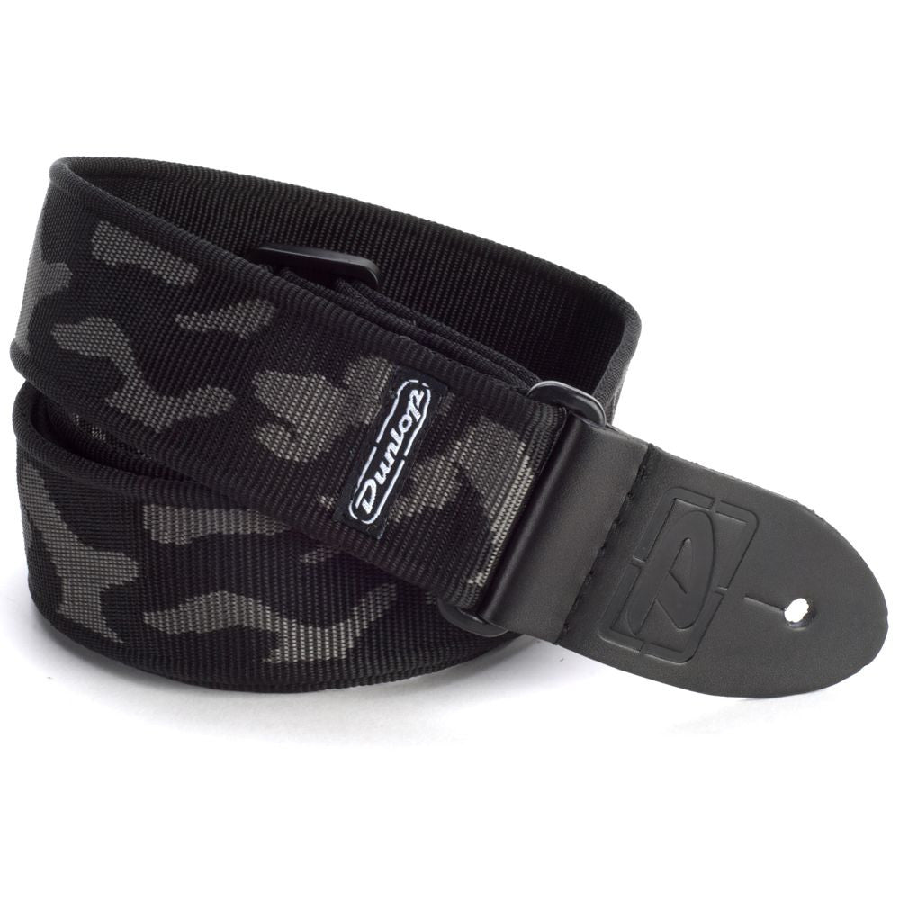 Dunlop Cammo Gray Guitar strap