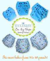 NykiBaby Diaper Pattern - PDF Download