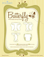 Nykibaby Butterfly Fitted Diaper Pattern - PDF Printable