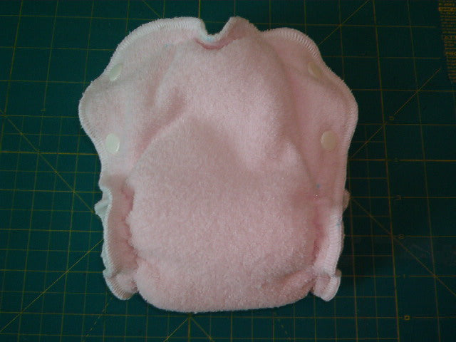 Completed Side Snap Diaper