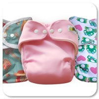 Little Starter Cloth Diaper Pattern by Little Comet Tails