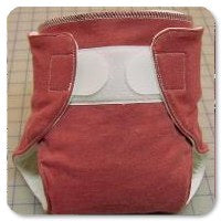 Sew a Fitted or Pocket Diaper from Old T-shirts