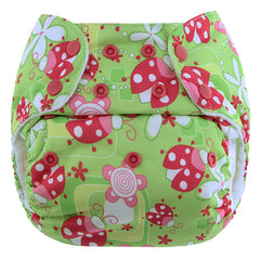 Pink Ladrybugs PUL Fabric