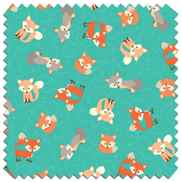 Foxes PUL Fabric