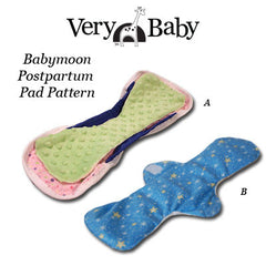 Babymoon Postpartum Pad Pattern - PDF Download