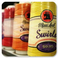 Maxi-Lock Swirls Variegated Thread
