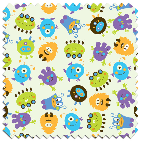 Monsters PUL Fabric