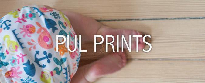 PUL prints fabric