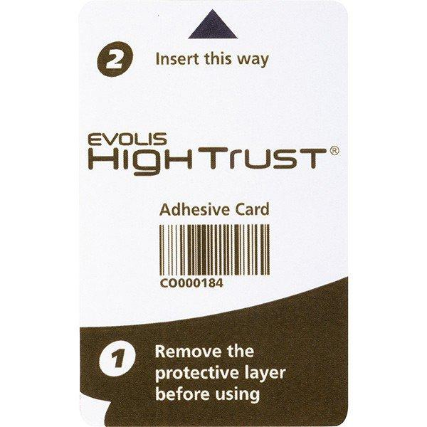 adhesive clean cards