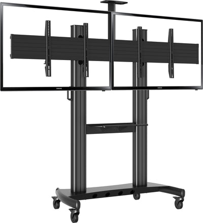 "Vivolink Mobile stand double 40""-65"" - Pos-Hardware Ltd"