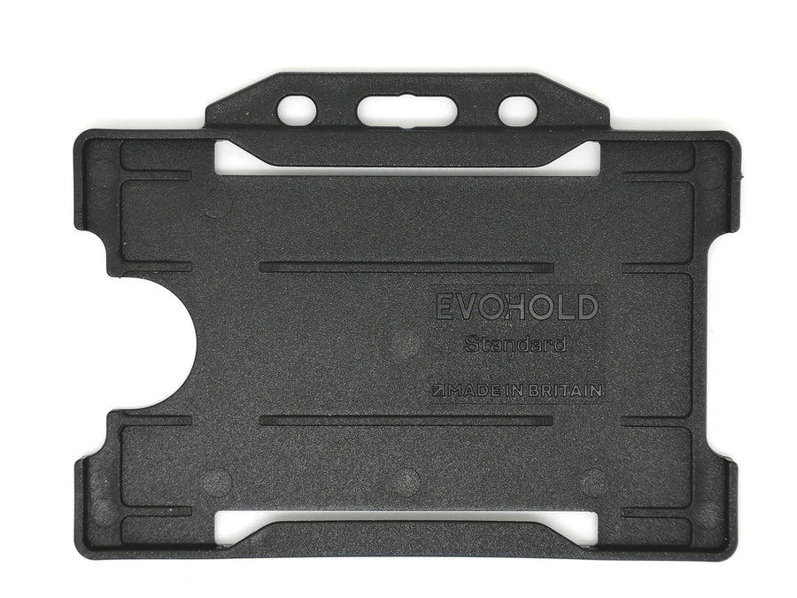 Recyclable EVOHOLD Single sided badge holders-Pack of 100 - Pos-Hardware Ltd