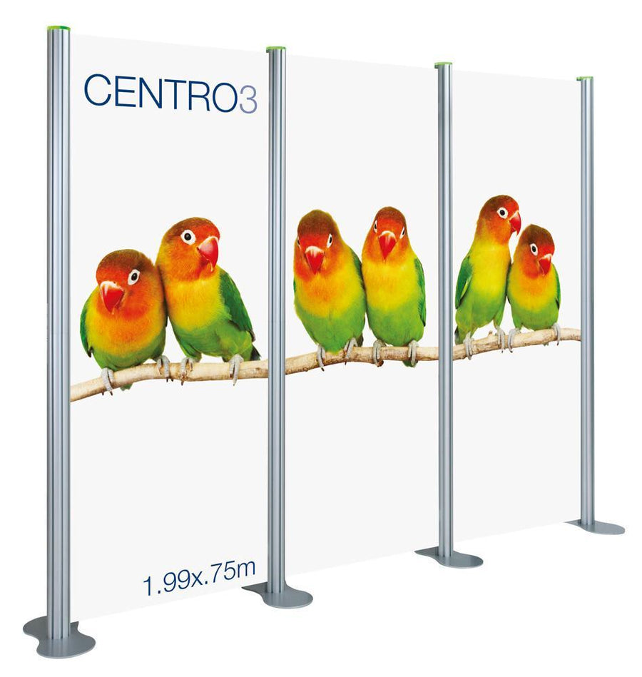 Centro 3 Straight Rotrlink Display