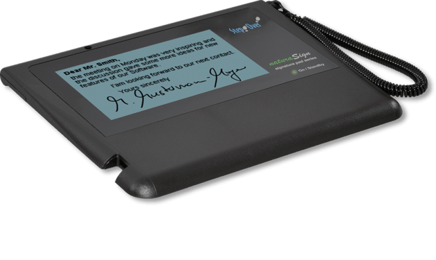 StepOver NaturaSign Pad Mobile USB - Pos-Hardware Ltd