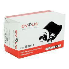 Evolis Colour ribbon (YMCKO) R3011 - Pos-Hardware Ltd