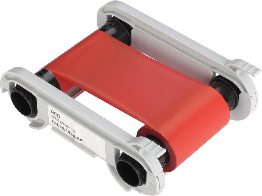 Evolis Colour ribbon, monochrome, red. RCT013NAA - Pos-Hardware Ltd