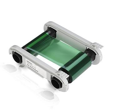 Evolis Colour ribbon, green - Pos-Hardware Ltd