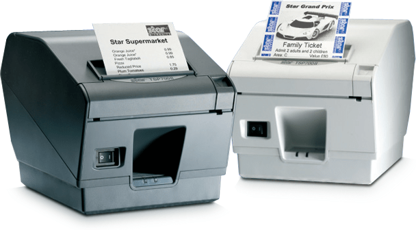 Star Micronics TSP743 Thermal Printer,Auto Cutter INC PSU - Pos-Hardware Ltd