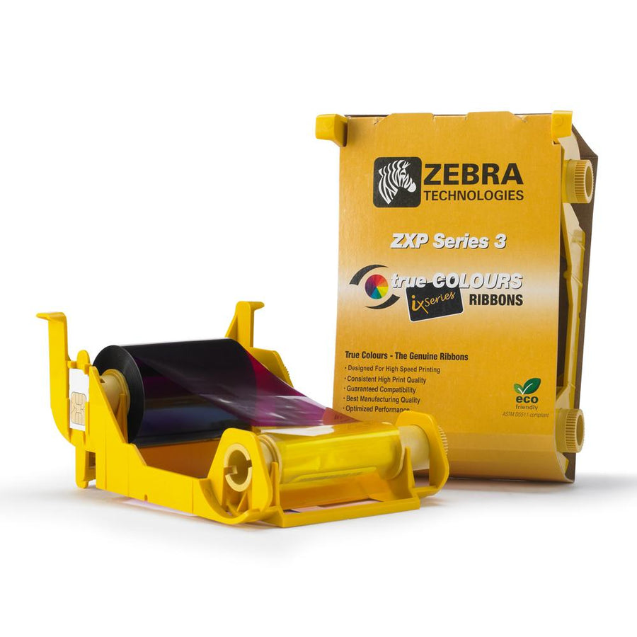 Zebra 800033-848 – ZXP3 YMCKOK Ribbon - Pos-Hardware Ltd