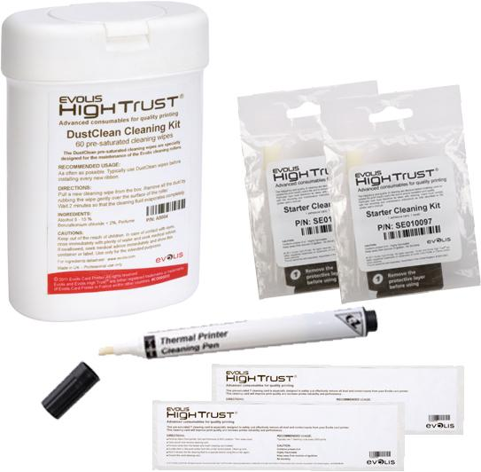 Evolis Cleaning Kit ACL002 - Pos-Hardware Ltd