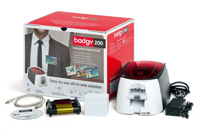 Evolis Badgy 200 Card Printer - Pos-Hardware Ltd