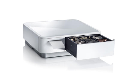 Star mPOP Integrated Compact Cash Drawer for HIKE Pos, 60mm Thermal Printer With Cutter & Tablet Stand - Pos-Hardware Ltd