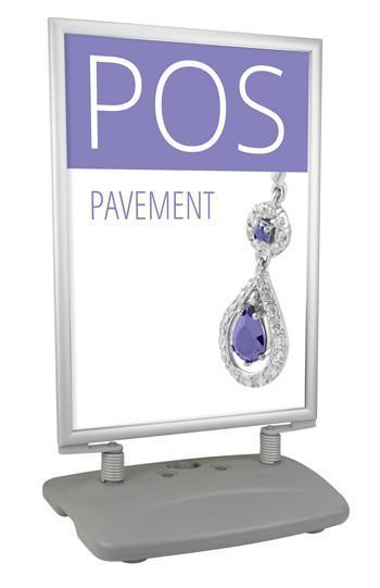 Poster Pavement Display