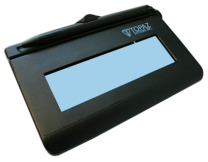 Topaz T-LBK462-BSB-R SignatureGem LCD 1x5 virtual serial