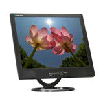 "19"" LCD Monitor (Black)  with VGA, BNC (1 in / 1 out) video and speakers"