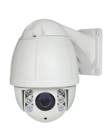 IP66 Aluminum Casing Large PTZ Dome Security Camera