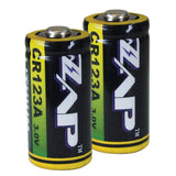 CR123A Zap Brand Batteries {Set of 2}