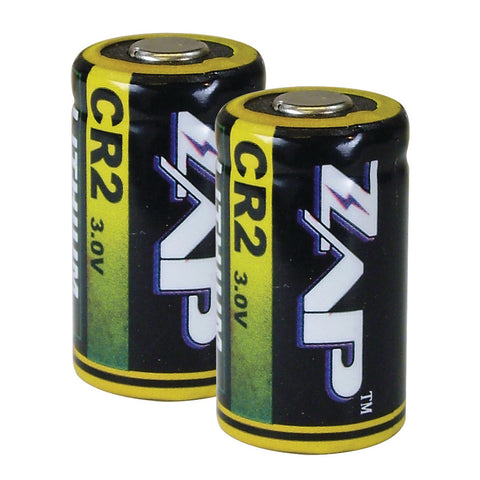 CR2 Zap Brand Batteries {Set of 2}