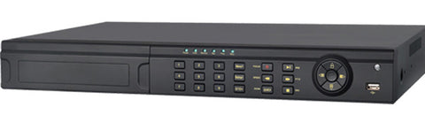 HD-TVI DVR 2700 TE Series - 16 channels, connect Analog and IP