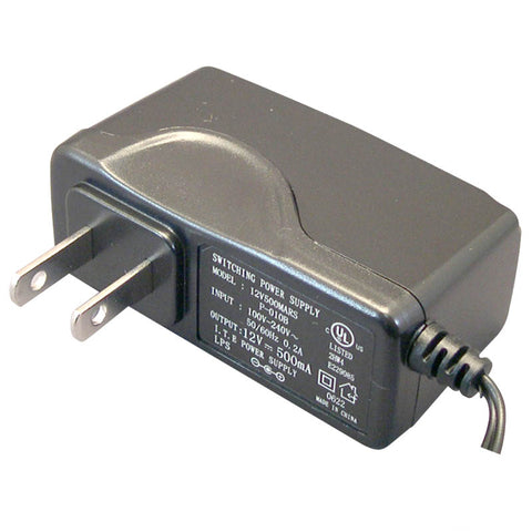 PA5M1D0 12V DC Power Adapter - UL Listed