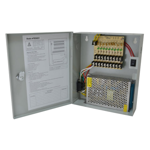 A gray power box