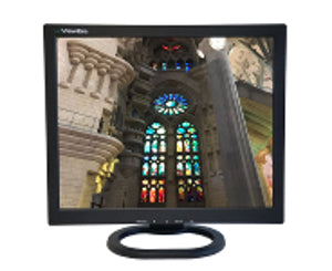"V172SV2 17"" TFT-LCD monitor with VGA, composite audio/video and S-Video inputs"
