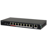 POE-SW801 / 8-Ports 100Mbps Unmanaged PoE Switch