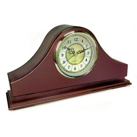 Hidden Camera Mantel Clock - Battery Operated