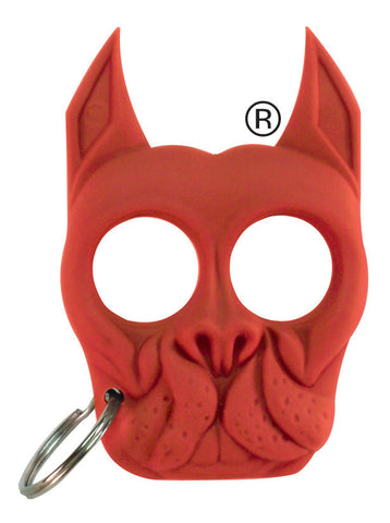 Pitbull-Shaped Self Defense Key Chain