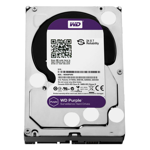 Western Digital Purple Surveillance Hard Drive - 5TB
