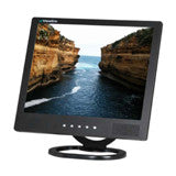 "15"" LCD Monitor (Black) with VGA, Composite (RCA) video, S-Vdeo and speakers"