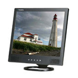 "17"" LCD Monitor (Black)  with VGA, Composite (RCA) video, S-Vdeo and speakers"