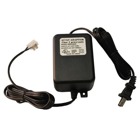 2 Amp AC 120-Volt 60Hz Power Adapter - AC 24V/ 2A IN-LINE POWER SUPPLY