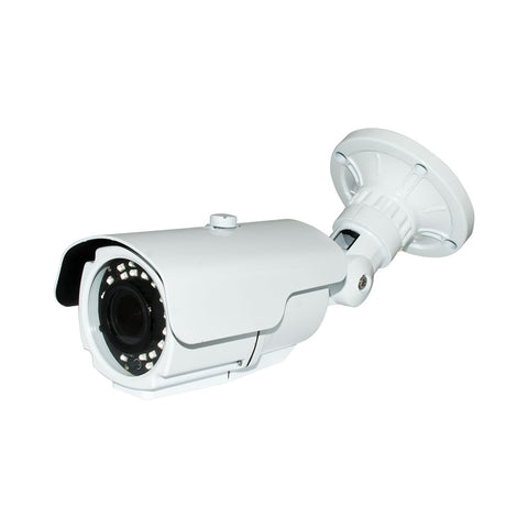 V4B2340W HD 4-IN-1 (CVI, TVI, AHD, ANALOG) BULLET 1080P 2.8-12MM VARI-FOCAL LENS 42IR WEATHERPROOF